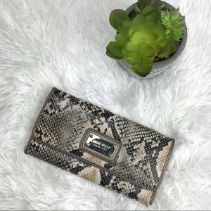 Nine West Snakeskin wallet
